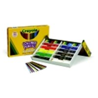 Crayola Non-Toxic Colored Pencil Classpack With Sharpener - 3.3 mm. Thick Tip, Pack 240