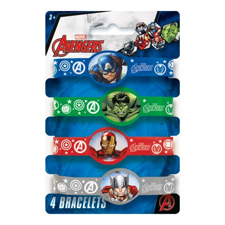 Epic Avengers Rubber Bracelet (4) - Avengers Jewelry