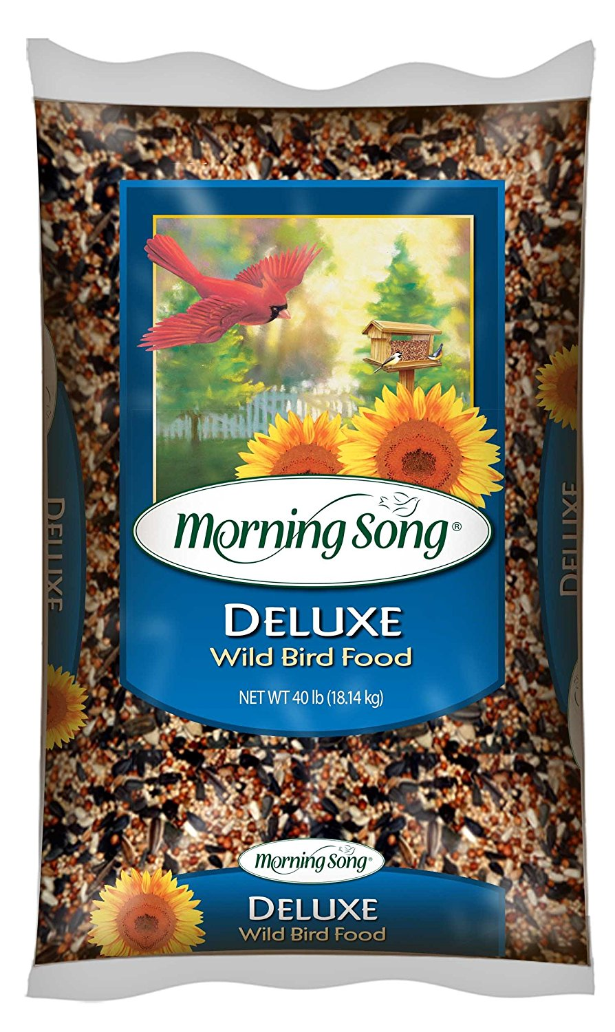 11353 Deluxe Wild Bird Food, 40-Pound 40 lb, from US by