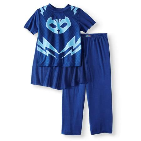 PJ Masks Boy's Costume Play 2 Piece Pajama Sleep Set (Big Boys & Little Boys) - Pj & Me