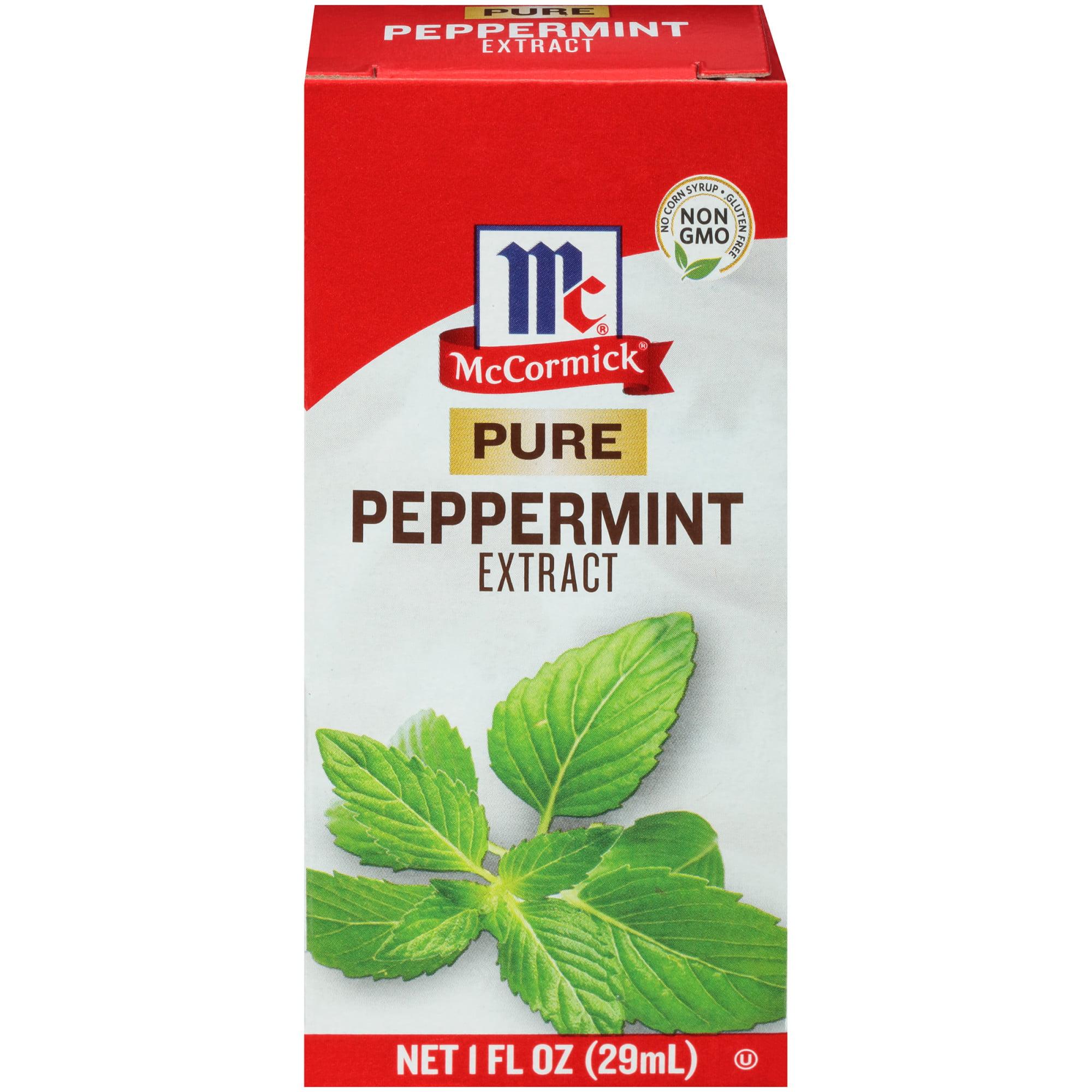 McCormick Pure Peppermint Extract, 1 fl oz - Walmart.com