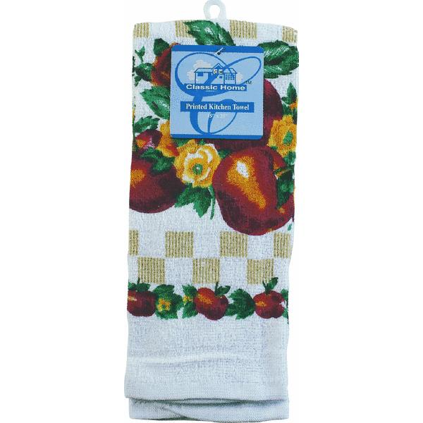 Kitchen Towel With Printed Design