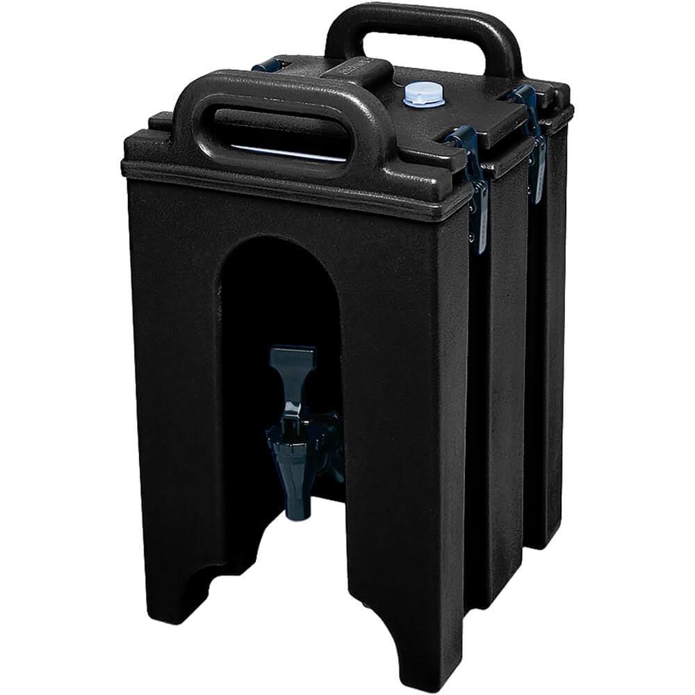 Cambro 1.5 Gal. Insulated Beverage Dispenser, Black, 100LCD-110