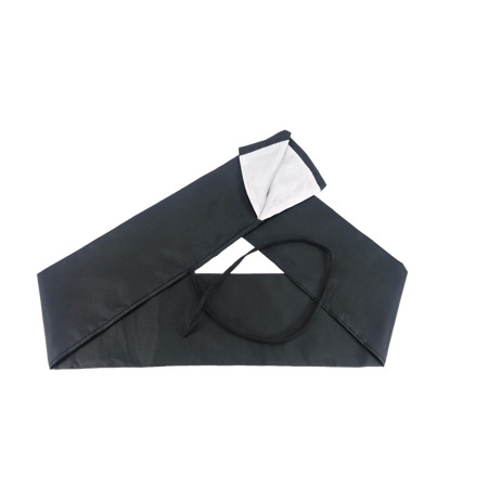 Makoto Sword Bag Black And White Two Tone For Katana And Shirasaya