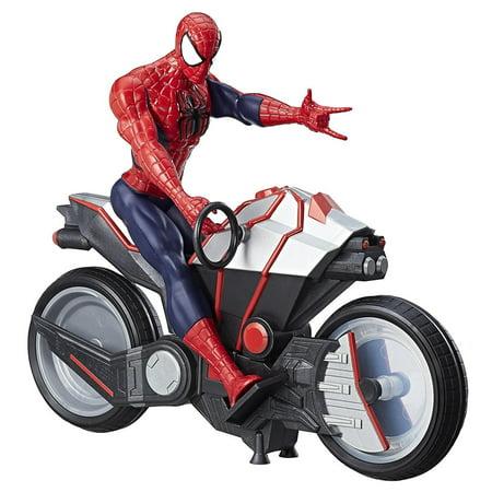 Marvel Spider-Man Figure & Spider Cycle Titan Hero Series Hasbro B9767