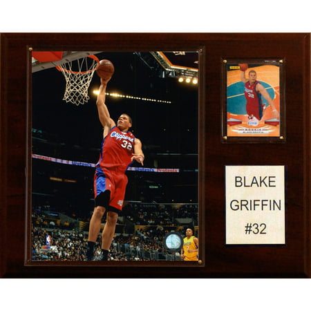 C&I Collectables NBA 12x15 Blake Griffen Los Angeles Clippers Player Plaque (Clippers Nba)