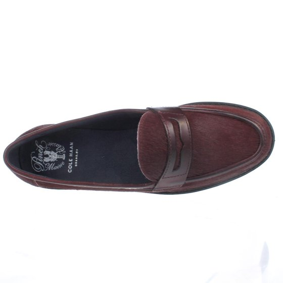 9a44516f932 Cole Haan - Womens Cole Haan Pinch Campus Penny Loafers - Tawny Port ...