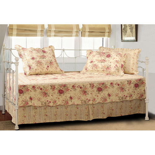 Global Trends 5-Piece Antique Rose Day Bedding Set