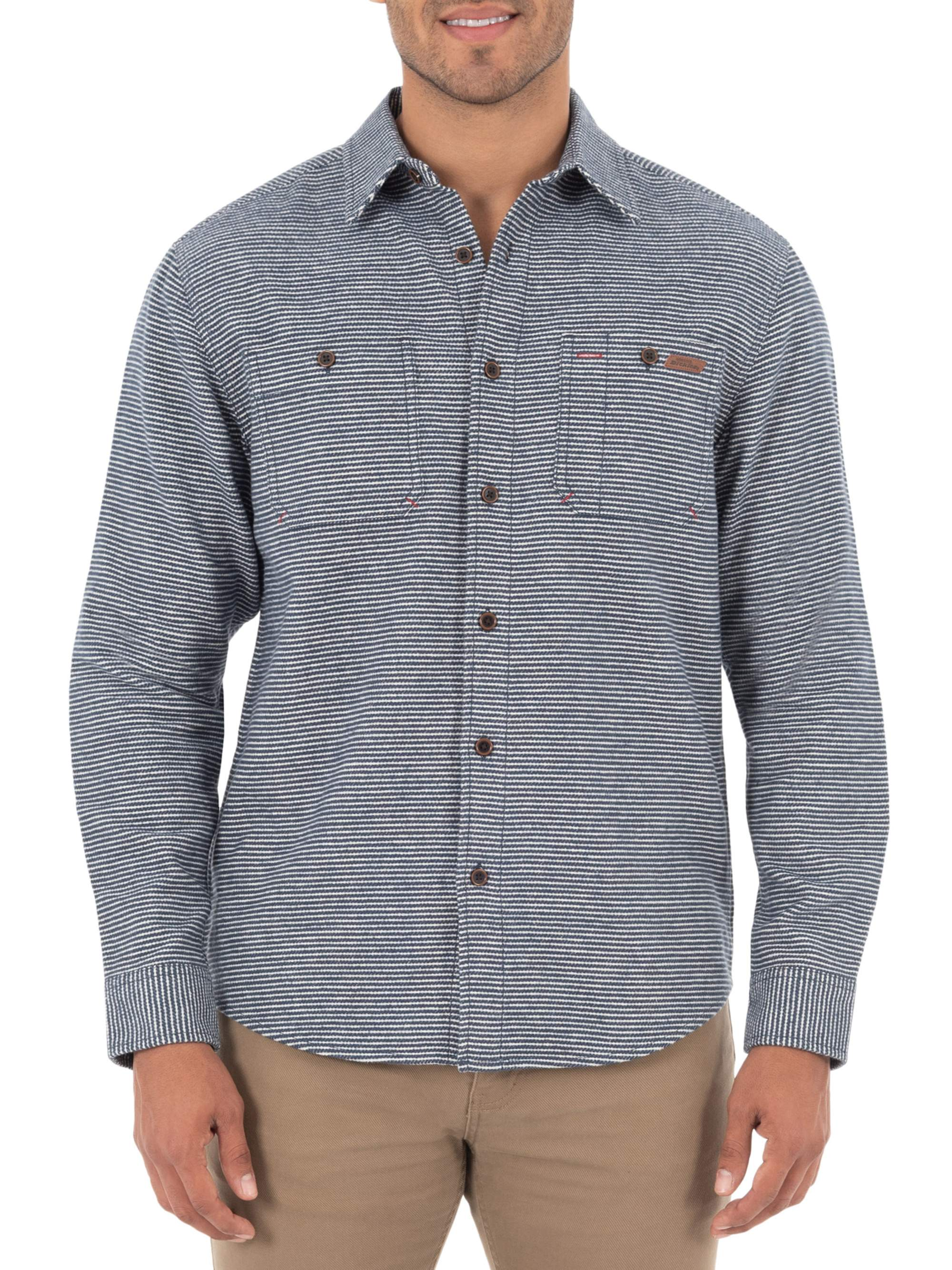 Dark Smoke Relaxed Fit Dickies Woven Shirt