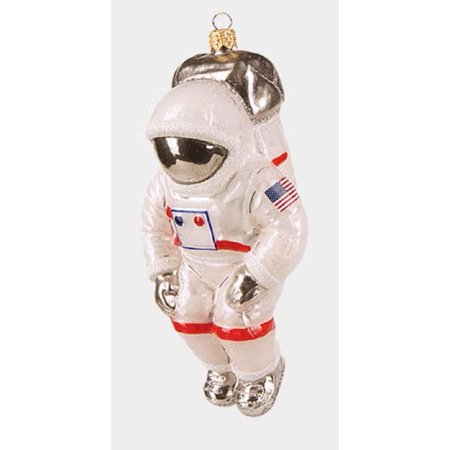 USA Space Astronaut Polish Glass Christmas Ornament Decoration Made in - Usc Decorations