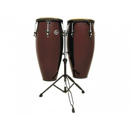 Lp Latin Percussion Aspire Wood Conga Set Dark Wood (10 & 11 Inch)