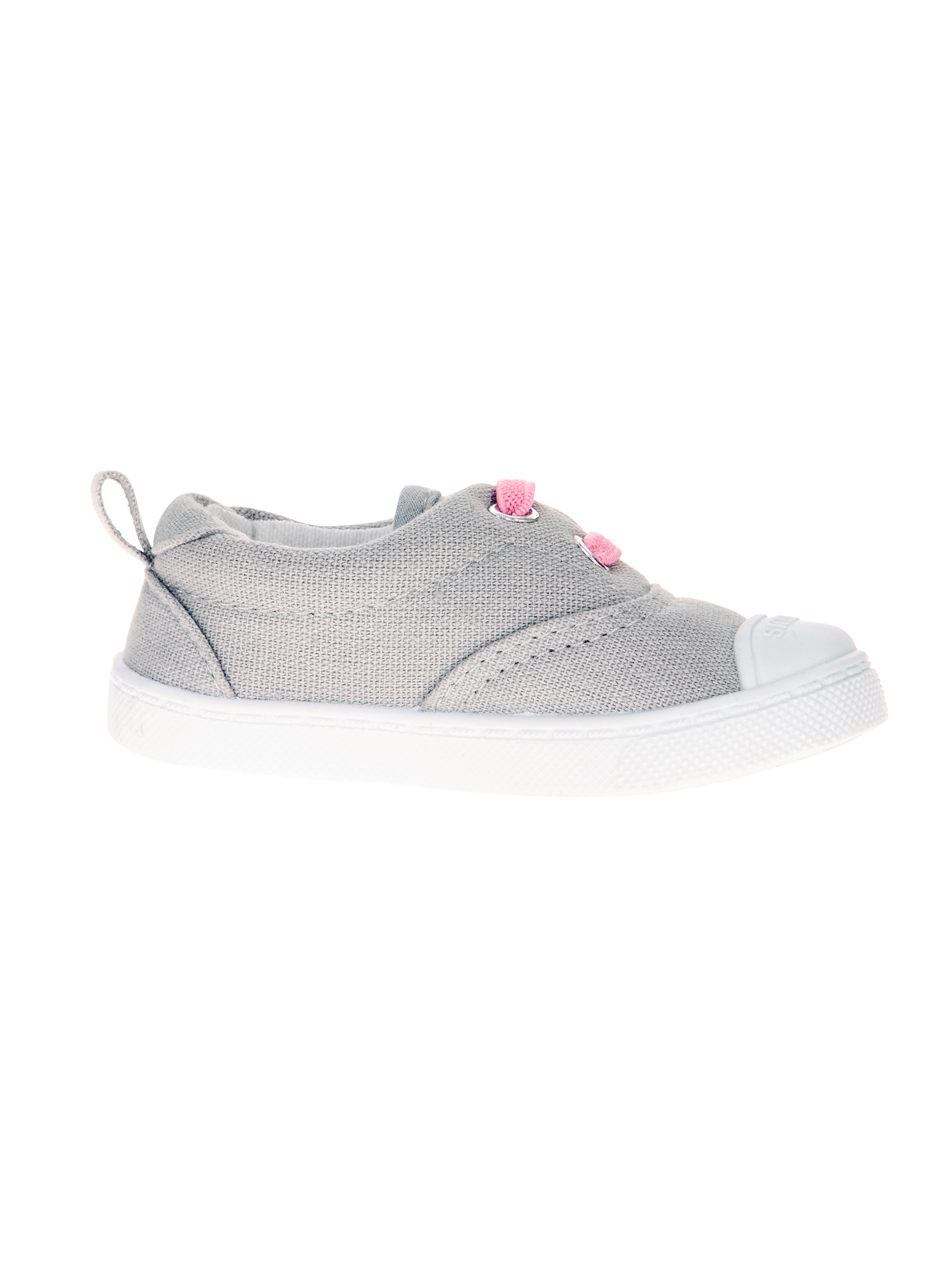 Baby Girl's Faux Lace Slip-On Casual Shoe