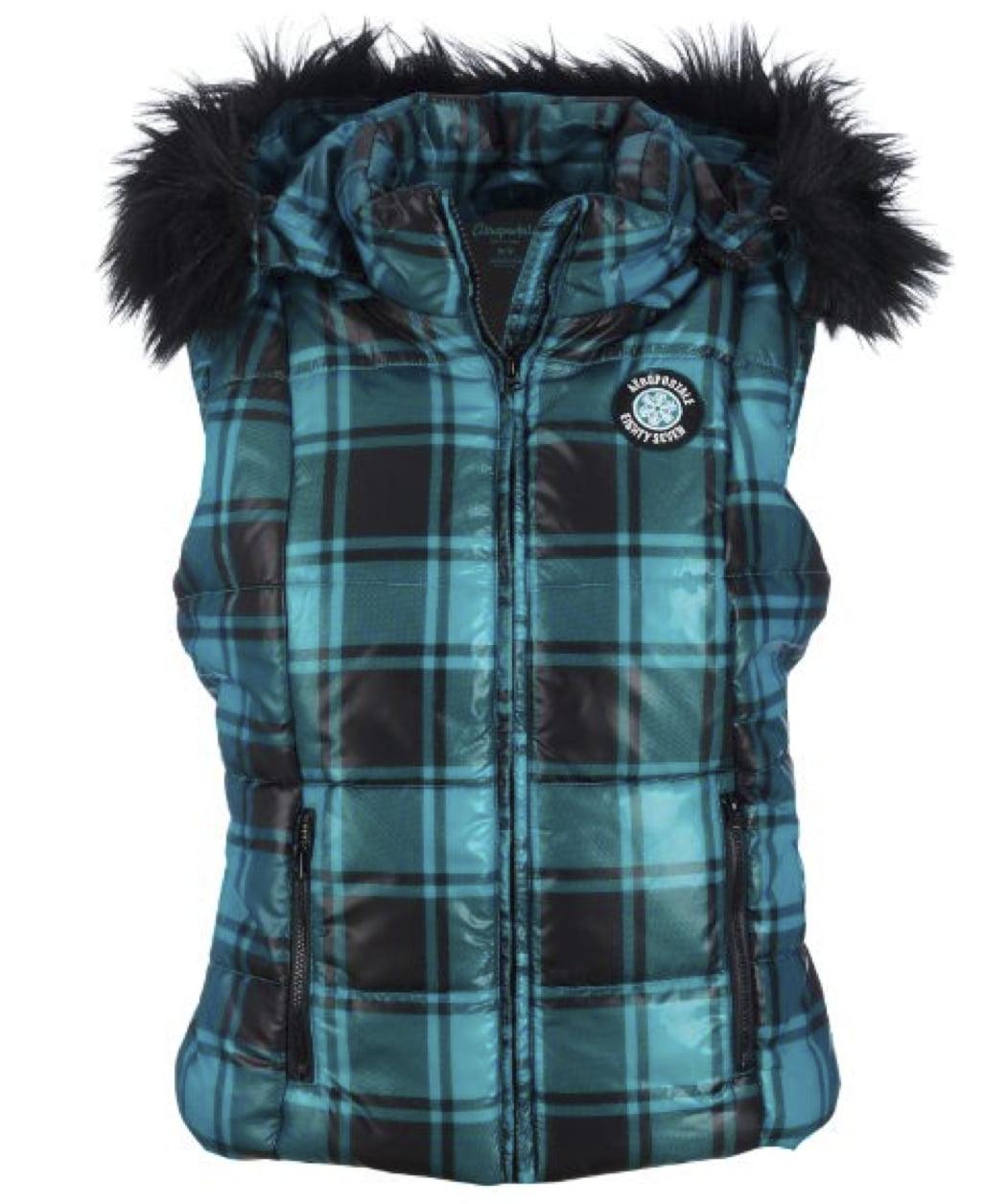 Aeropostale Women's Puffer Fur Vest
