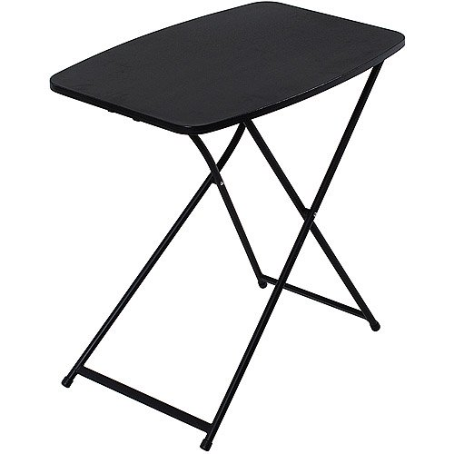 """Mainstays 26"""" Personal Black Folding Tables, 4 Count"""