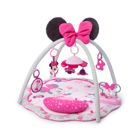 Disney Baby Minnie Mouse Activity Gym and Play Mat - Garden (Best Baby Gym Mat)