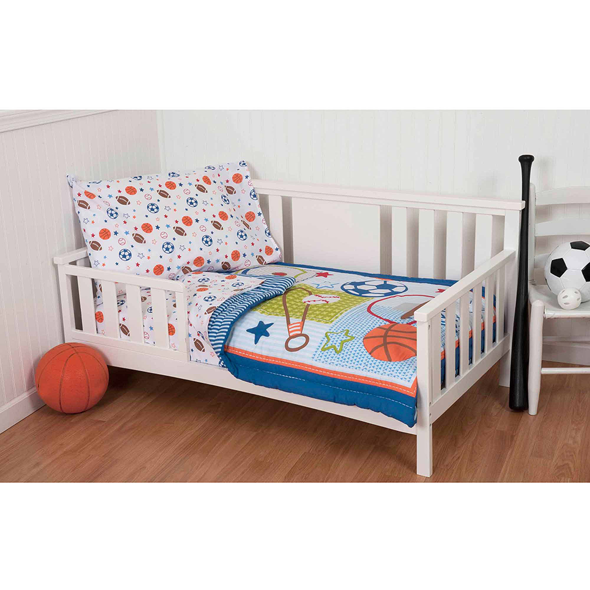 Sumersault Superstar 4-Piece Toddler Bedding Set by Sumersault