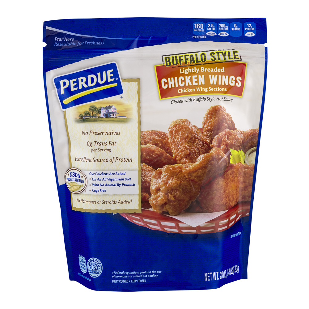 Perdue Lightly Breaded Chicken Wings Buffalo Style, 28.0 OZ