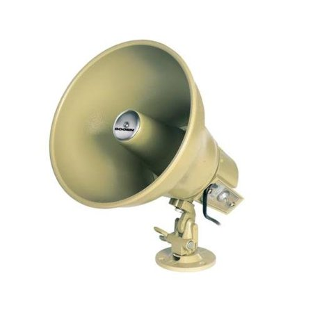 Self Amplified Horn - Bogen BG-AH15A Bogen 15 watt Amplified Horn - NEW - White Box - BG-AH15A