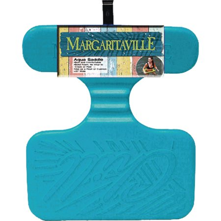 """Margaritaville Aqua Saddle 20"""" x 20"""" Inflatable Float Cushion"""