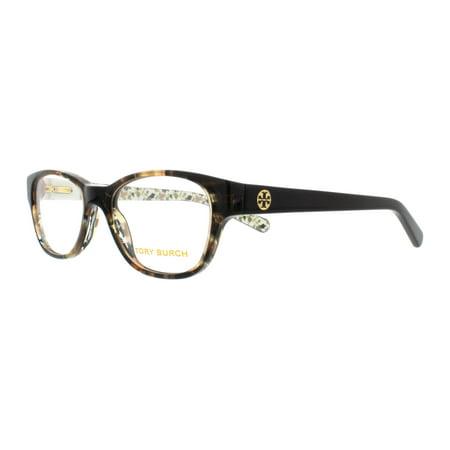 TORY BURCH Eyeglasses TY 2031 3154 Yellow Tortoise/Black Batik (Tory Burch Sunglass)