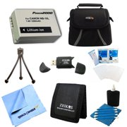 Special Loaded Value NB-10L Battery Kit For Canon Powershot SX40,SX50, G15 & G1X - Includes NB-10L Replacement Battery, Carrying Case, USB 2.0 Card Reader, Mini Tripod, 3 Card Memory Card Wallet, Cle