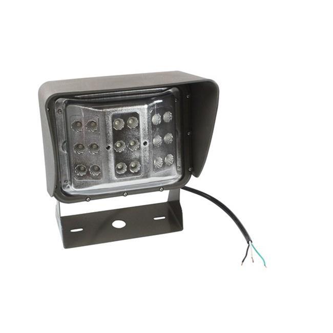 Larson Electronics LEDWP-600C-PURPLE 60 watt Colored LED Wall Pack Light, Wide Flood Beam, U Bracket Mount - Purple