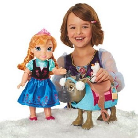 Frozen Toddler Anna and Sven - Anna Crown Frozen