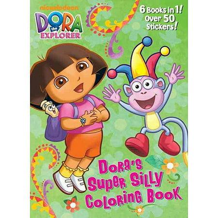 Dora\'s Super Silly Coloring Book (Dora the Explorer) - Walmart.com