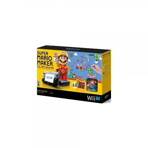 Super Mario Maker Console Deluxe Set Nintendo Wii U by