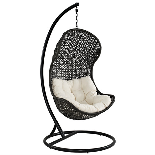 Modway Gamble Swing Chair with Stand