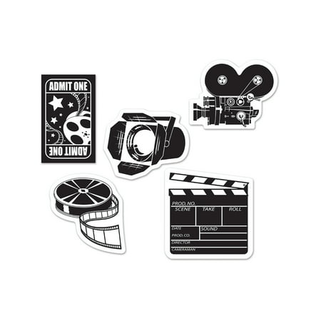 Mini Hollywood Director Movie Set Cut Outs Wall Holiday Party - Movie Director Megaphone