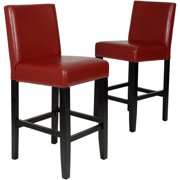 Roundhill Citylight Counter Height Bar Stool Set of 2, Multiple Colors Available by Roundhill