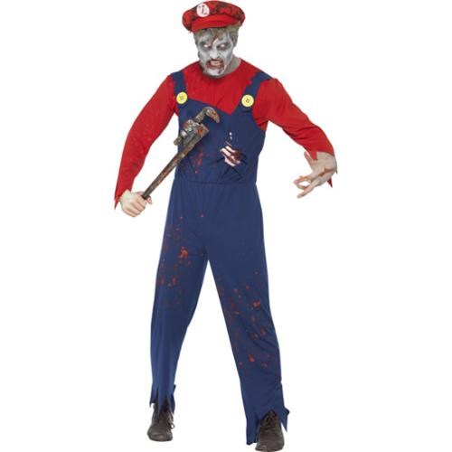 Zombie Plumber Adult Costume