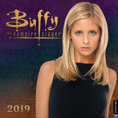 2019 BUFFY THE VAMPIRE SL AYER WALL CALENDAR