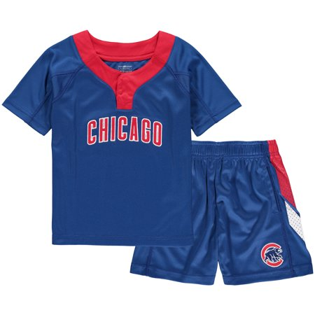 Chicago Cubs Toddler Ground Rules T-Shirt & Shorts Set - (Lost T-shirt Shorts)