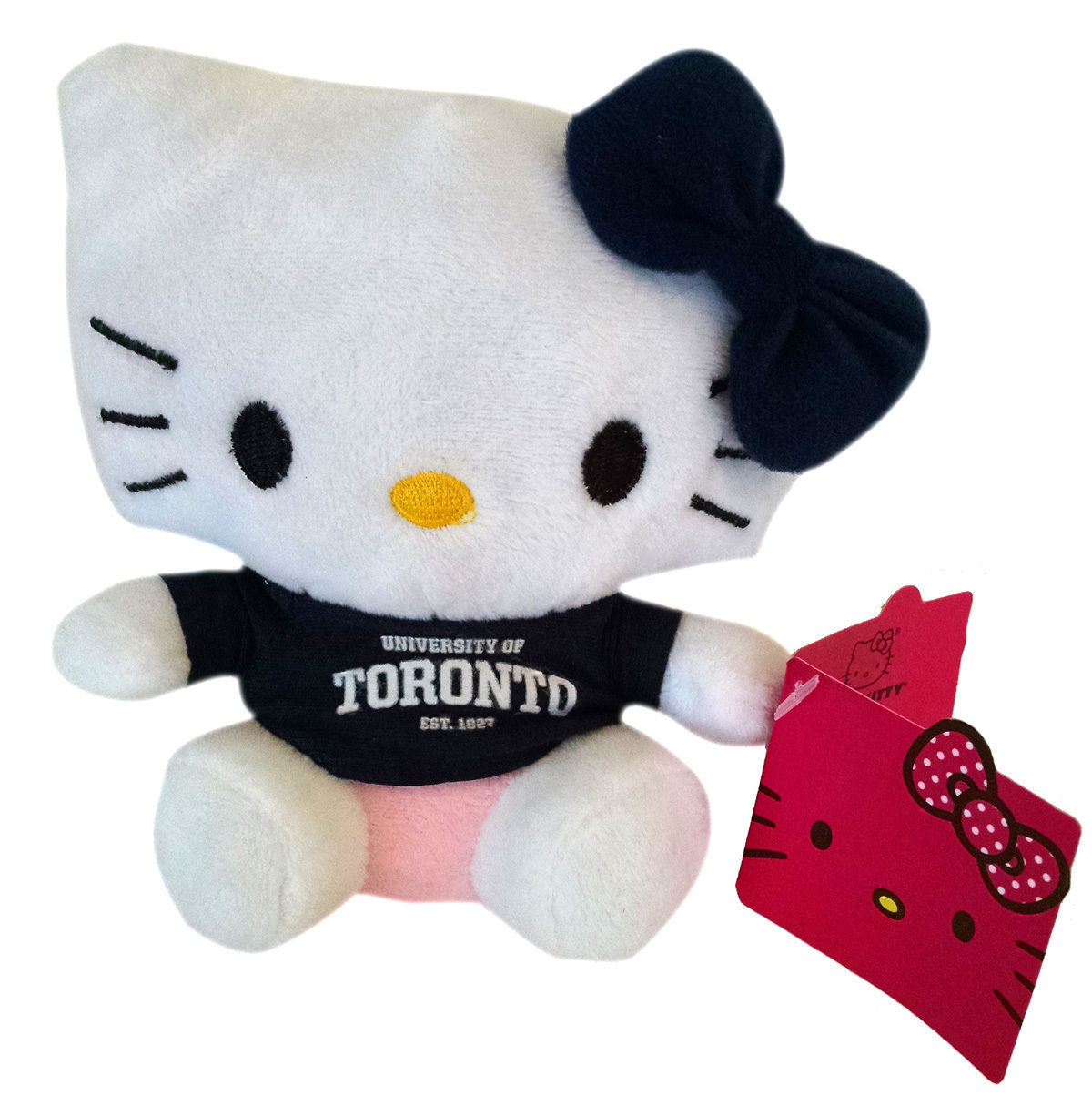 Hello Kitty Goes to College University of Toronto True Blue Plush Toy by Plushland