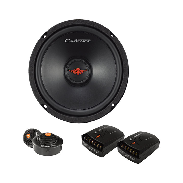 "CADENCE 6.5"" 2 way 180 Watts Component Speakers"
