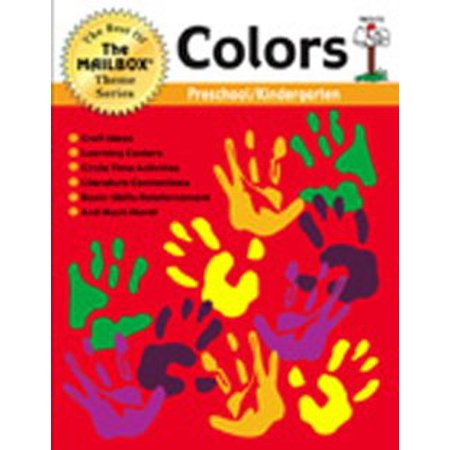 THE EDUCATION CENTER THEME BOOK COLORSGR. PREK-K