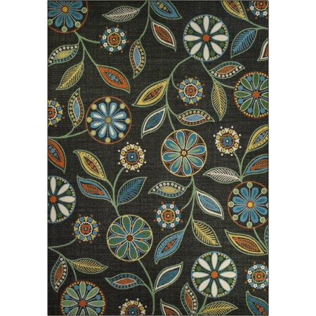Runner Plenum Rated Color - Mainstays Minerva Multicolor Nylon Textured Print Area Rug or Runner
