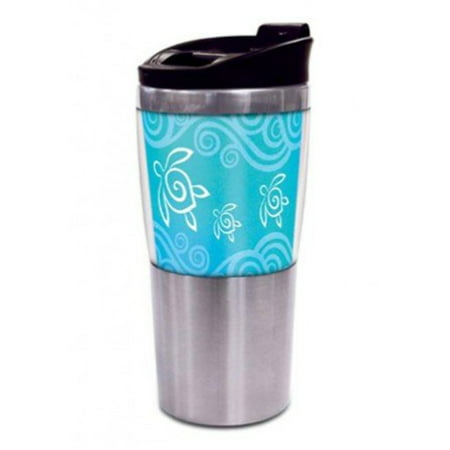 Honu Swirl Stainless Steel Thermal Tumbler