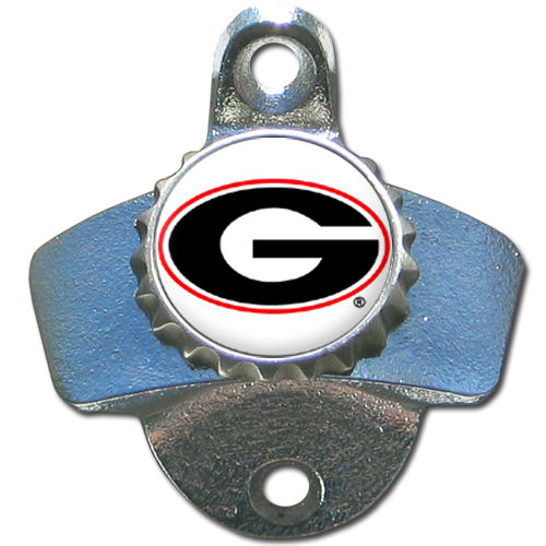 Georgia Bulldogs Official NCAA Wall Mounted Bottle Opener by Siskiyou 079160