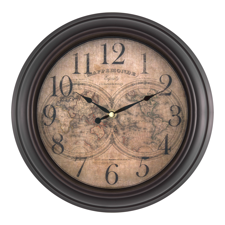 27923 Equity 25206 Quartz Wall Clock 10 10 La Crosse Technology Ltd Wall Clocks Home Décor