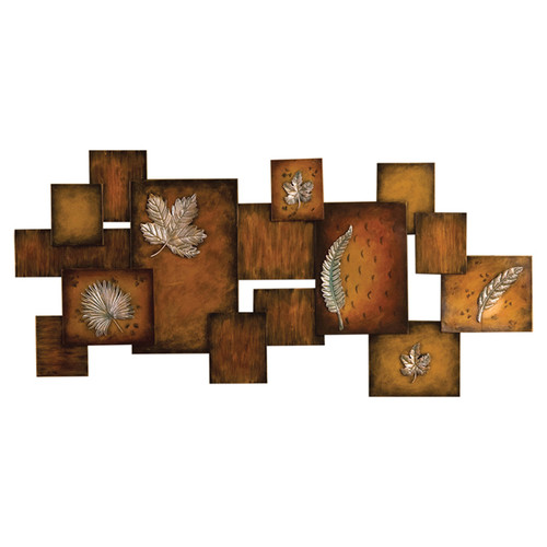 Wildon Home Oakes Metal Art Panel Wall Decor by Southern Enterprises