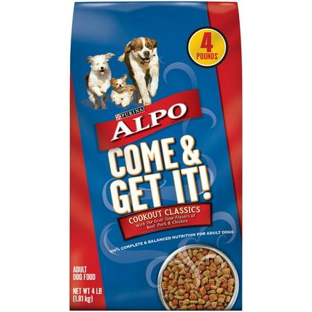 ALPO Come & Get It! Cookout Classics Adult Dry Dog Food - 4 lb. Bag (Alpo Dog Food Ingredients)
