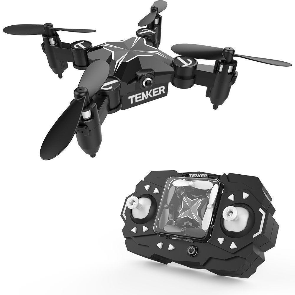 TENKER Skyracer Mini RC Helicopter Drone for kids Quadcopte with Altitude Hold 3D Flips by