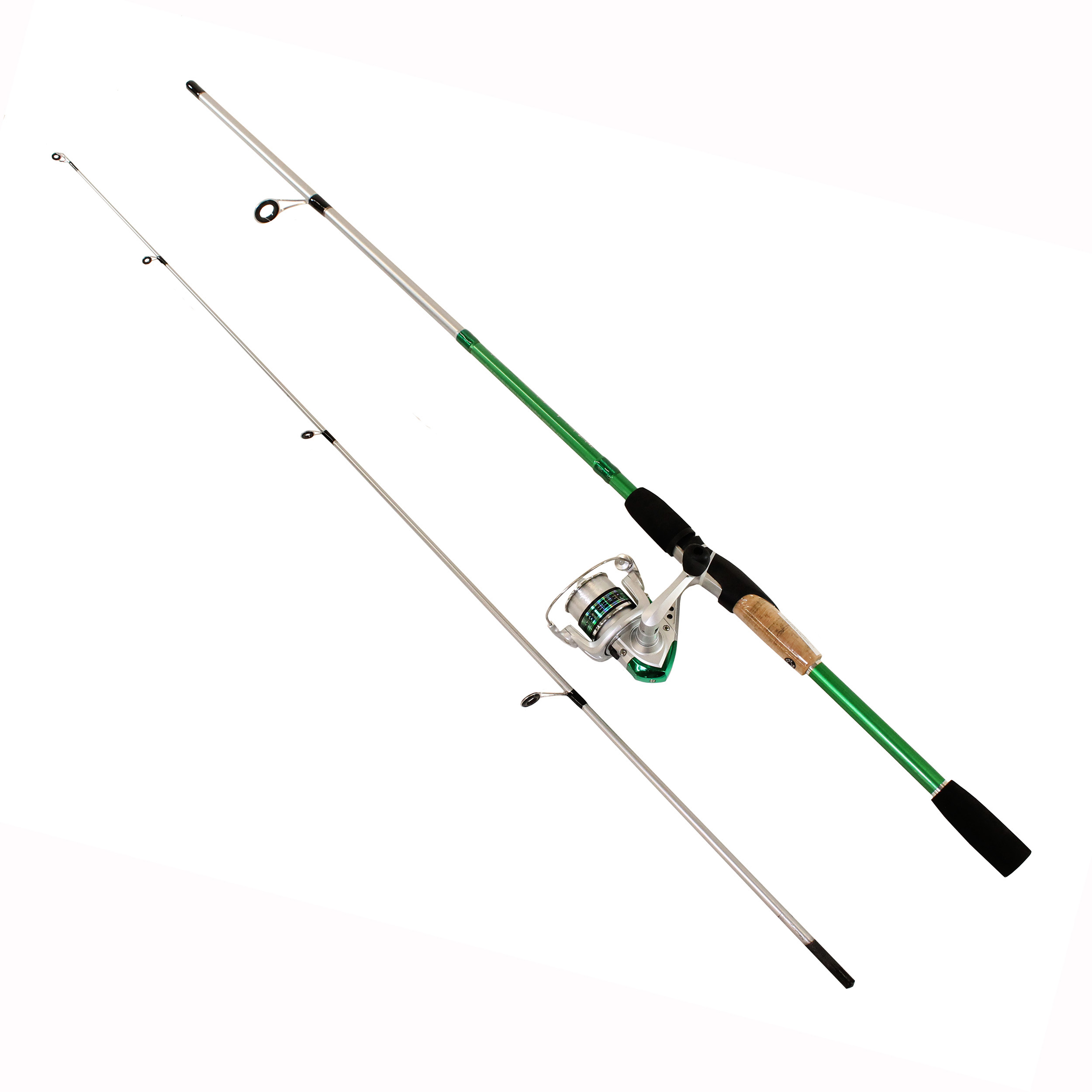 Okuma Steeler XP Spinning Combo 20 Reel Size, 1BB Bearings, 6' Length,...