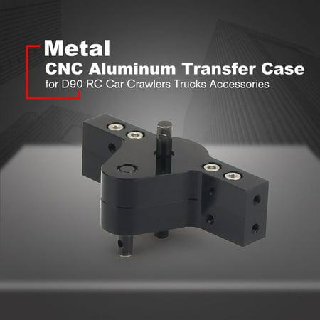 VENSE CNC Aluminum Transfer Case Gear Box for D90 RC Car Crawlers Trucks Parts - image 4 of 8