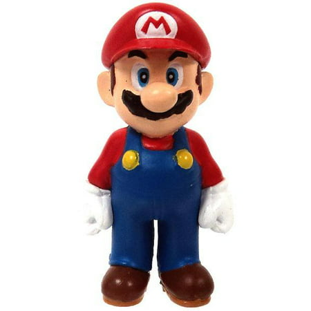 New Super Mario Bros Wii Mario PVC Figure [Arms at Side]