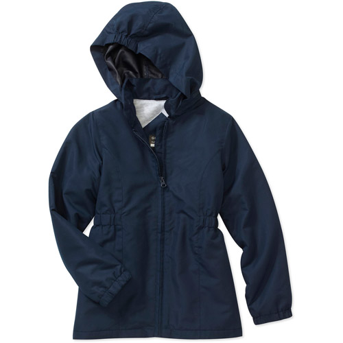 Girls' Hooded Nylon Parka