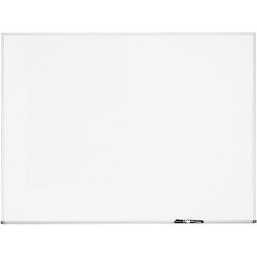 "Quartet Dry Erase Board, Melamine Surface, 36"" x 24"", Aluminum Frame"
